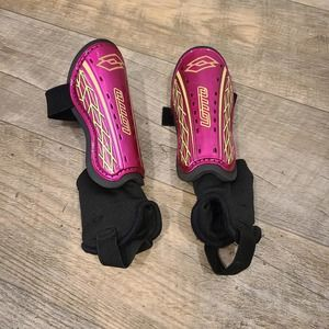 S Forza Pink Shin Guards